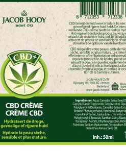 Jacob Hooy Creme Etiket