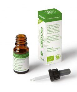 MediHemp CBD Olie Puur Bio 2,5% 10ml-2