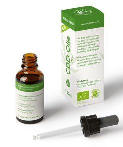 MediHemp CBD Olie Puur Bio 2,5% 30ml - 2
