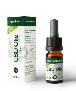 MediHemp CBD Olie Raw Bio 18% 10ml