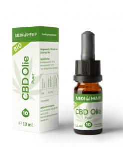 MediHemp CBD olie puur 10% - 10ml