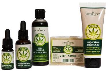 Jacob Hooy Producten CBD Pakket